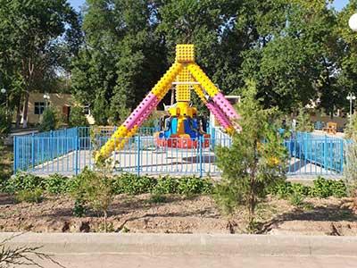 Beston mini big pendulum ride in Turkmenistan