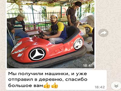 Beston Bumper Car Deliver To Kyrgyzstan 01