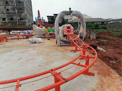 Beston kid worm roller coaster for sale