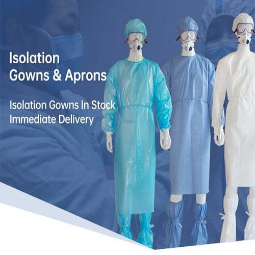 Disposable Isolation Gown For Sale (3)