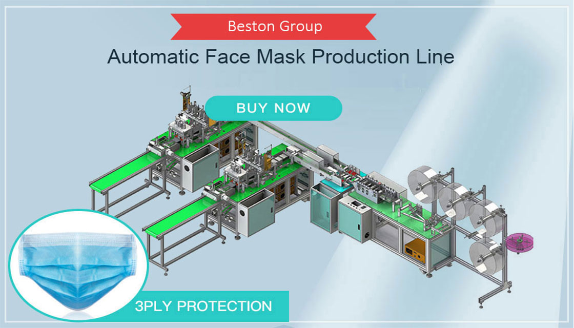 Beston fully automatic mask making machine