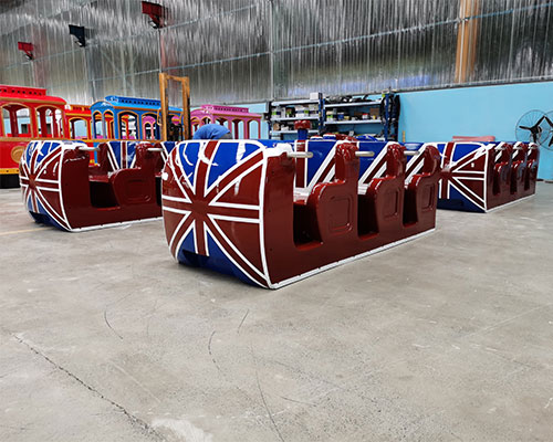 DUDU Trackless Train Ride For Sale (3)