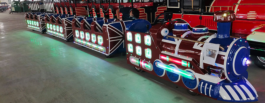 DUDU Trackless Train Ride For Sale (5)