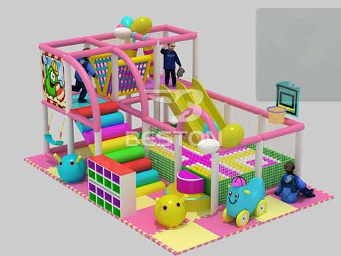 kid indoor soft playground equipments for sale (2)