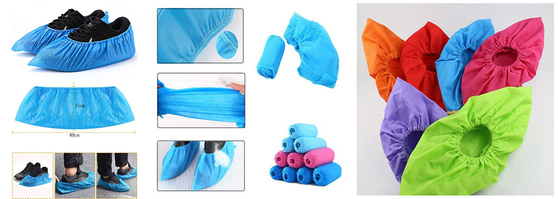 Disposable nonwoven shoe cover for sale
