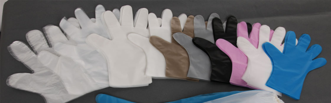 various PE gloves for sale