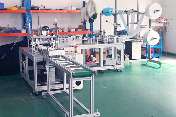 3-Ply Disposable Face Mask Making Machine Manufacturers