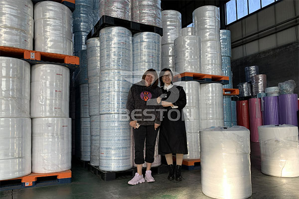 Meltblown Nonwoven Fabric For Russia Client
