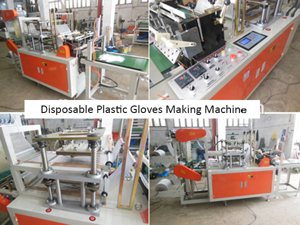 Plastic PE Gloves Making Machine For Sale