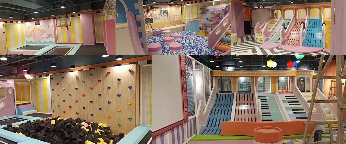 Soft indoor playground equipment for Australia Cllients