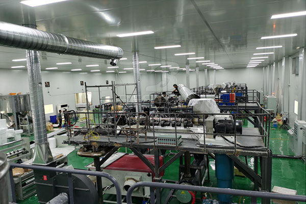 Spunbond Nonwoven Fabric in Factory