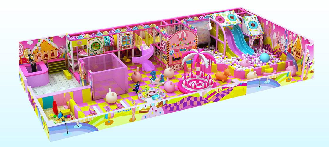 indoor playground equipment for Pakistan Client