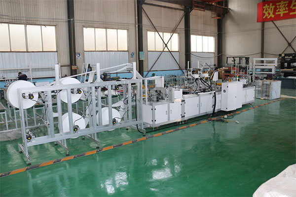kn95 mask making machine delivery to Canada
