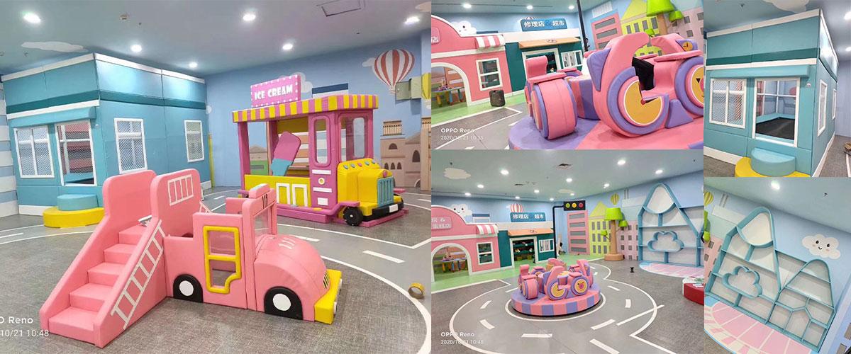 small indoor soft playground equipment manufacturers