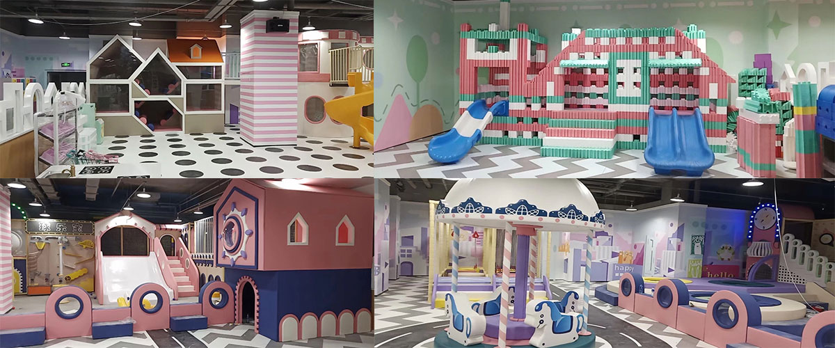 soft indoor play area equipment for sale