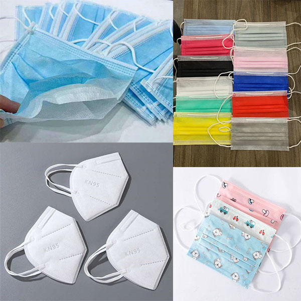 Nonwoven fabric for various disposable medical face mask