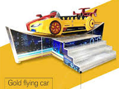 yellow happy flying car for sale