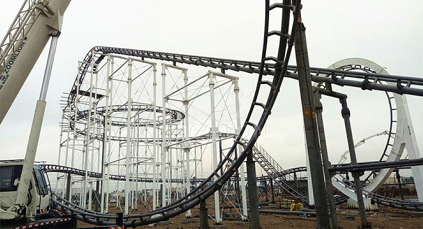 3 Loop Roller Coaster Ride For Sale