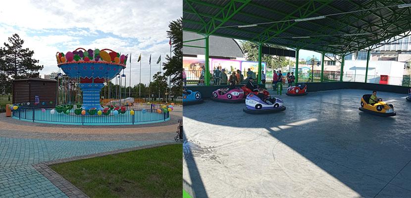 Amusement Park Project In Moldova