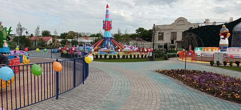 Beston Amusement Park Rides Project In Moldova