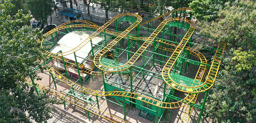 Beston Spin Roller Coaster Rides For Sale