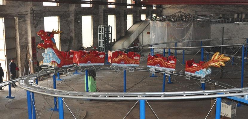 Sliding Dragon Roller Coaster Rides Suppliers