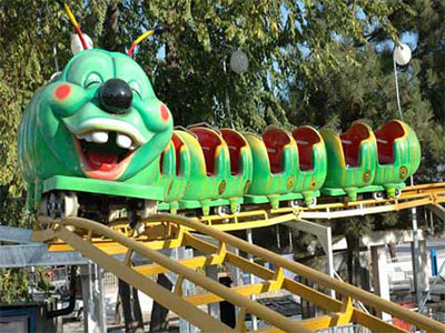 worm roller coaster rides costs
