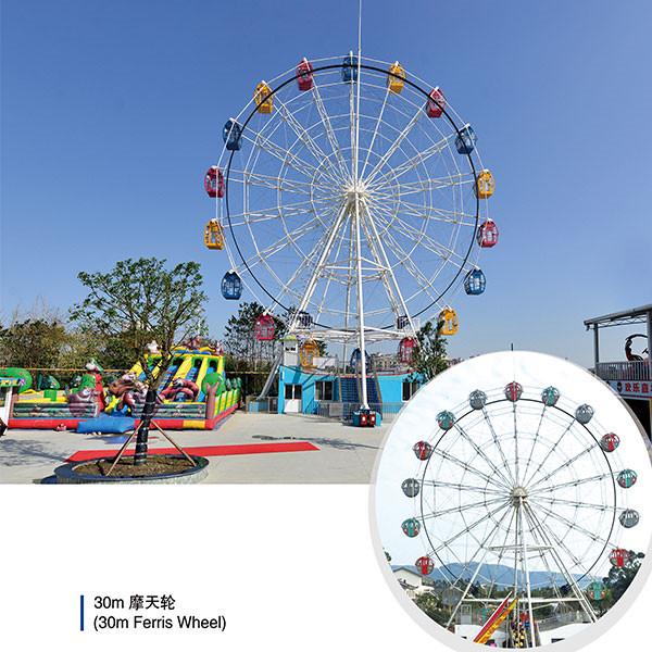 30 meter ferris wheel rides price