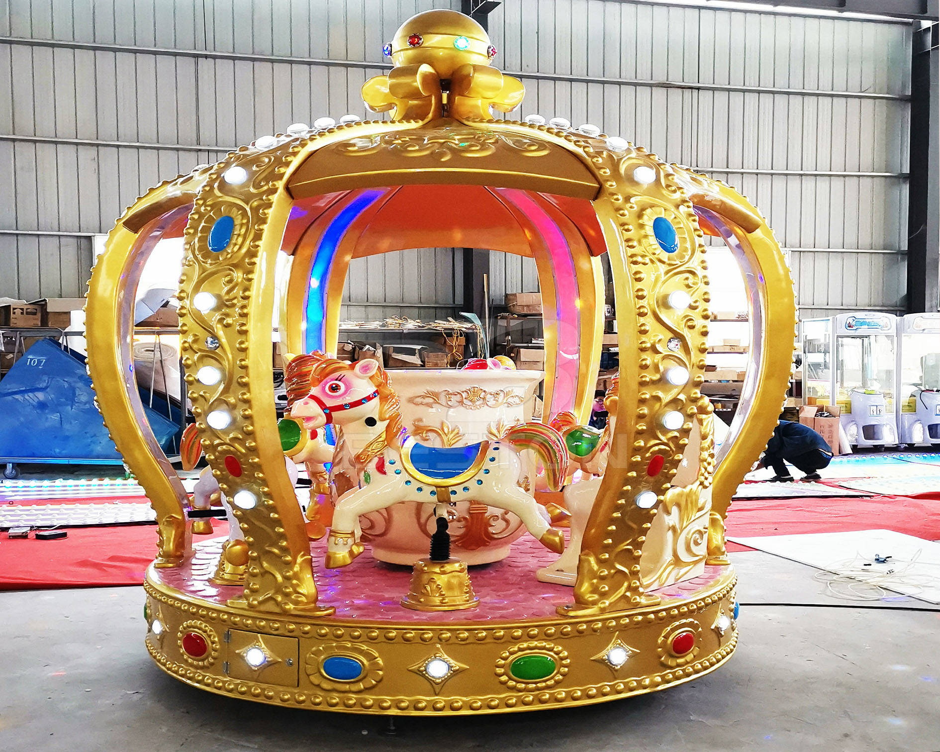Crown Carousel Rides For Sale