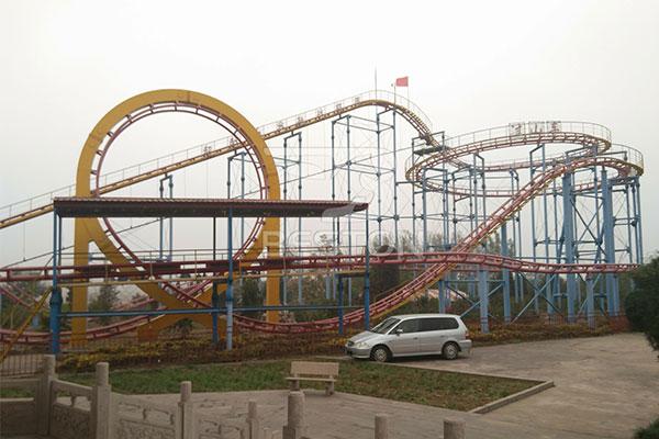 3-Loop Roller Coaster Rides Manufacturer