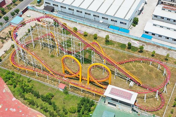 3-Loop Roller Coasters For Sale