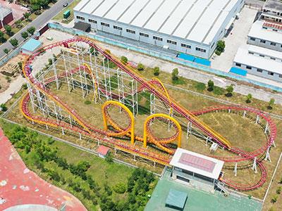 Beston 3-Loop Roller Coaster For Sale