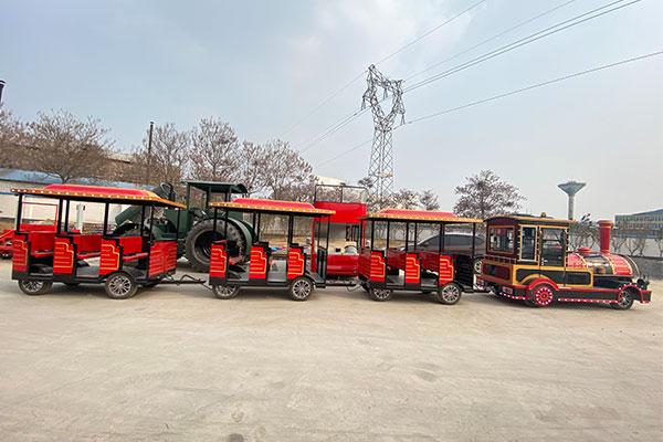 Beston Diesel Trackless Train Rides Manufacturer