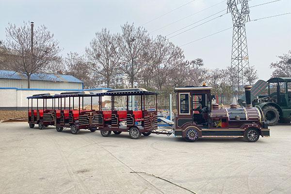 Beston Diesel Trackless Train Rides Supplier