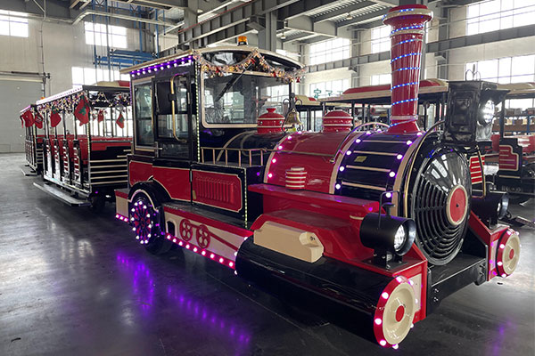 Diesel Trackless Train Rides For Sale