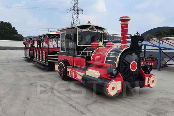 Diesel Trackless Train Supplier