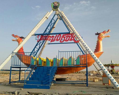 Pirate Ship Rides Installation In Tanzania